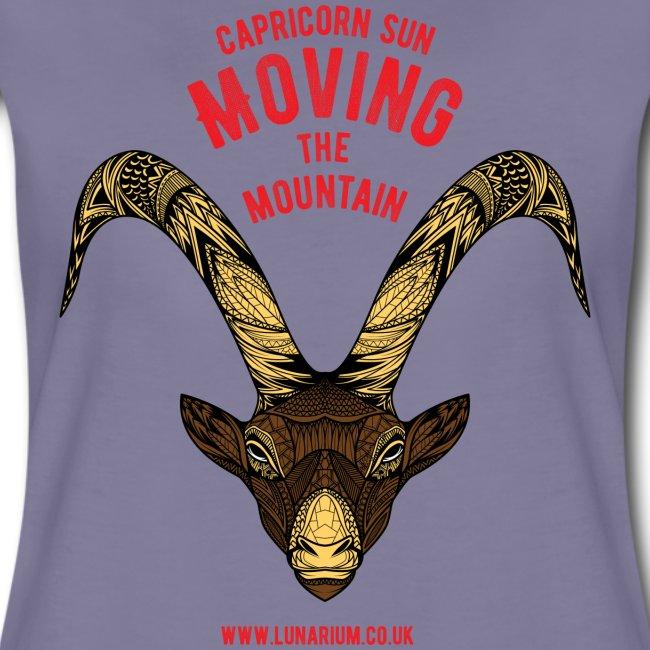Capricorn Sun Women's Premium T-Shirt