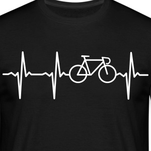 Heartbeat - Bicycle Tee shirts - T-shirt Homme