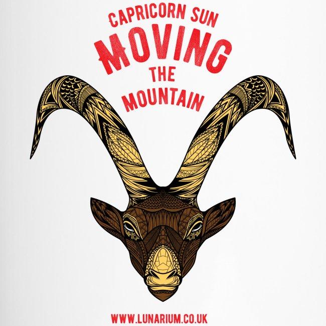 Capricorn Sun Travel Mug