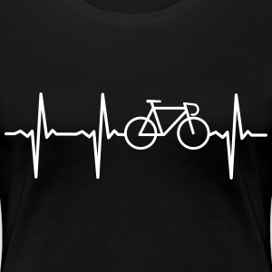 Heartbeat - Bicycle T-Shirts - Frauen Premium T-Shirt