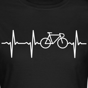 Heartbeat - Bicycle Camisetas - Camiseta mujer