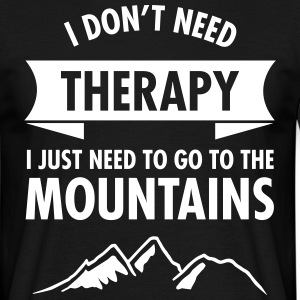 Therapy - Mountains T-shirts - T-shirt herr