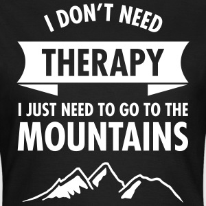 Therapy - Mountains T-Shirts - Women's T-Shirt