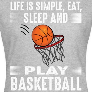 Play Basketball - T-shirt Femme