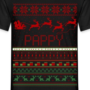 Pappy Ugly Christmas Sweater Xmas T-Shirts - Men's T-Shirt