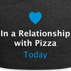 In a Relationship with Pizza / Beziehungsstatus  Caps & Mützen - Jersey-Beanie