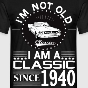 Classic since 1940 T-Shirts - Men's T-Shirt