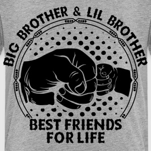 Big Brother & Lil Brother Best Friends For Life Shirts - Kids' Premium T-Shirt