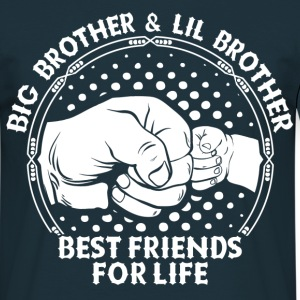 Big Brother & Lil Brother Best Friends For Life T-Shirts - Men's T-Shirt