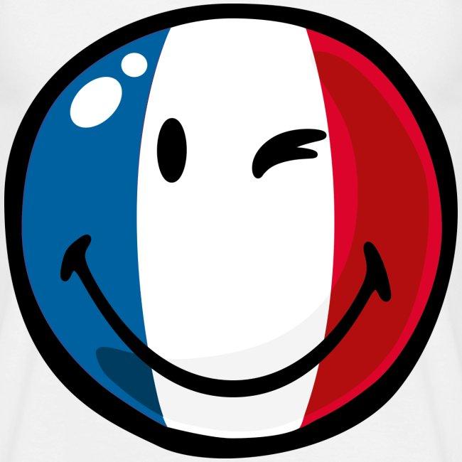 La france sur ta peau marque fran aise de t shirts t - Smiley en noir et blanc ...