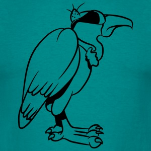 Vulture cool sunglasses T-Shirts - Men's T-Shirt