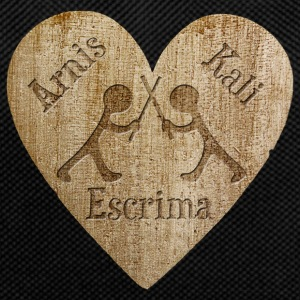 Love - Arnis Kali Escrima Bags & Backpacks - Backpack