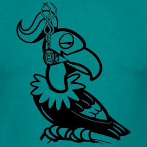 Vulture cool kiffen joint T-Shirts - Men's T-Shirt