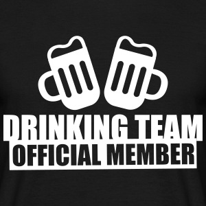 Drinking team official member - Camiseta hombre