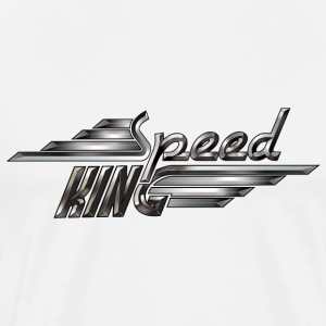 Speed King - Dark Steel - Männer Premium T-Shirt