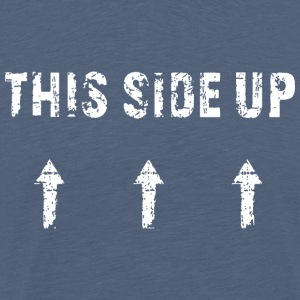 This Side Up - White - Männer Premium T-Shirt