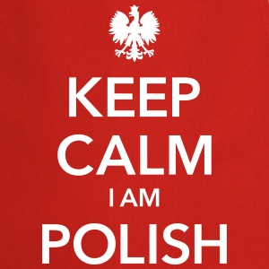 KEEP CALM I AM POLISH - Fartuch kuchenny
