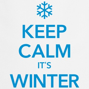 KEEP CALM IT'S WINTER  - Keukenschort