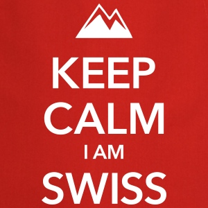 KEEP CALM I AM SWISS - Forklæde