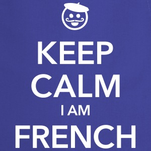 KEEP CALM I AM FRENCH  - Keukenschort