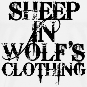 Sheep In Wolf's Clothing - Black - Männer Premium T-Shirt