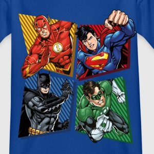 DC Comics Justice League Superheroes Group - T-skjorte for barn