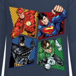 DC Comics Justice League Superhelden - Teenager Premium Langarmshirt