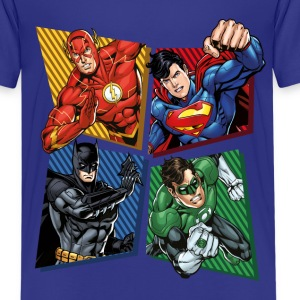 DC Comics Justice League Superheroes Group - Teenager premium T-shirt