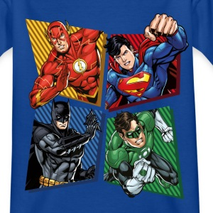 DC Comics Justice League Superheroes Group - Teenager-T-shirt