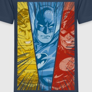 DC Comics Justice League Superman Batman Flash - Kinder Premium T-Shirt