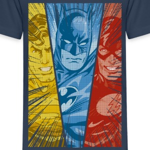 DC Comics Justice League Superman Batman Flash - Børne premium T-shirt