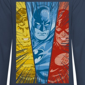 DC Comics Justice League Superman Batman Flash - Teenager Premium Langarmshirt