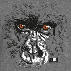 Animal Planet Primates Apes Gorilla Portrait - Women's Boat Neck Long Sleeve Top