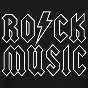 RO/CK Music Outline - Männer Premium T-Shirt