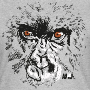 Animal Planet Primates Apes Gorilla Portrait - Women's T-Shirt