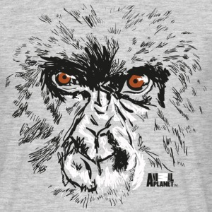 Animal Planet Gorilla Affe Gesicht - Männer T-Shirt
