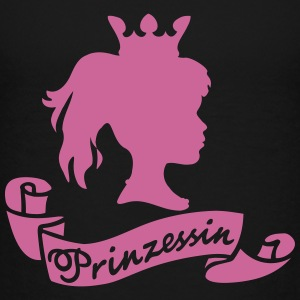 Prinzessin for Dark Shirts - Kinder Premium T-Shirt
