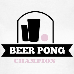 beer pong champion T-Shirts - Frauen T-Shirt