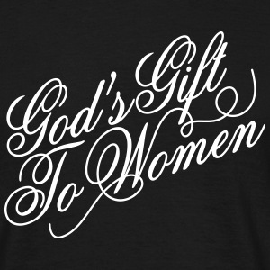God's gift to women Tee shirts - T-shirt Homme