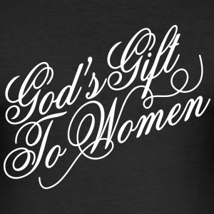 God's gift to women T-skjorter - Slim Fit T-skjorte for menn