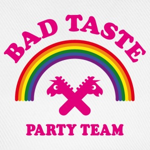 Bad Taste Party Team (Einhorn, Regenbogen, Cooper) Caps & Mützen - Baseballkappe