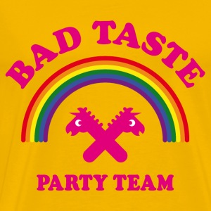 Bad Taste Party Team (Unicorn / Rainbow /  Cooper) T-Shirts - Men's Premium T-Shirt