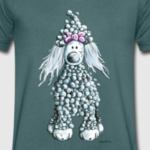 Cute  Poodle T-Shirts - Men's V-Neck T-Shirt