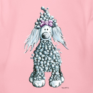 Cute  Poodle Baby Bodysuits - Organic Short-sleeved Baby Bodysuit