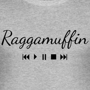 Raggamuffin Button T-Shirts - Männer Slim Fit T-Shirt