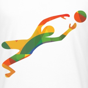 Colourful goalkeeper - Men's Long Body Urban Tee