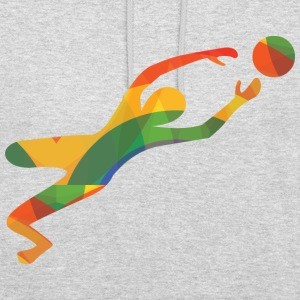 Colourful goalkeeper - Unisex Hoodie