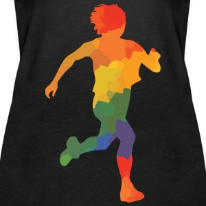 Colored runner - Women's Premium Tank Top