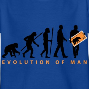 evolution_briefmarkensammler_11_201602 T-Shirts - Kinder T-Shirt
