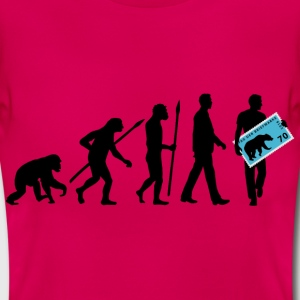 evolution_briefmarkensammler_11_201603 T-Shirts - Frauen T-Shirt